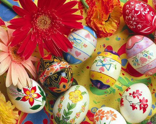 Як святкують Великдень (пасху)?
